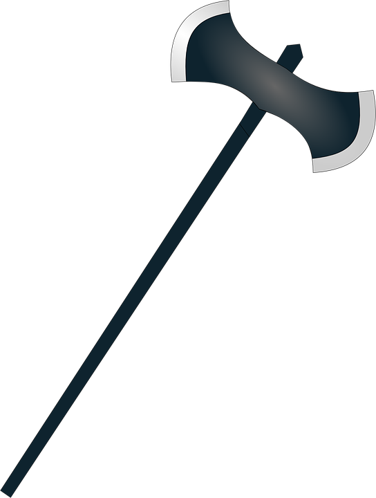 Battle axe free collection. Hammer clipart medieval