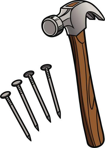 Free iron cliparts download. Nails clipart hammer nail
