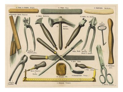 Various tools used by. Hammer clipart shoemaker tool