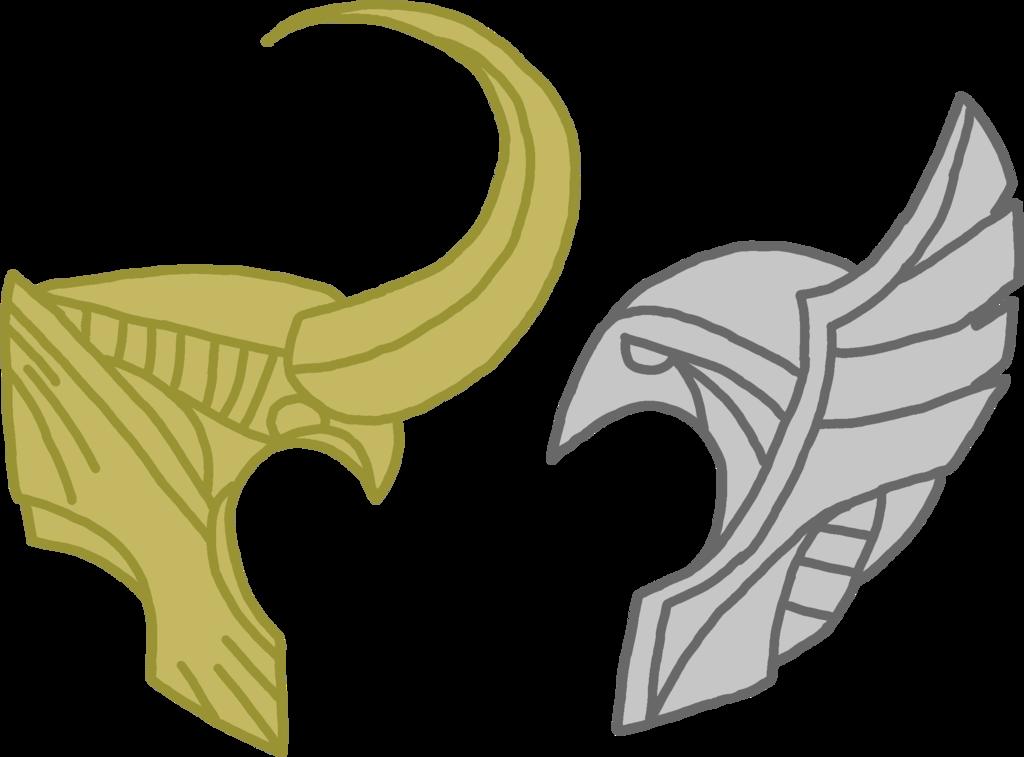 Hammer clipart thor. Helmet and loki by