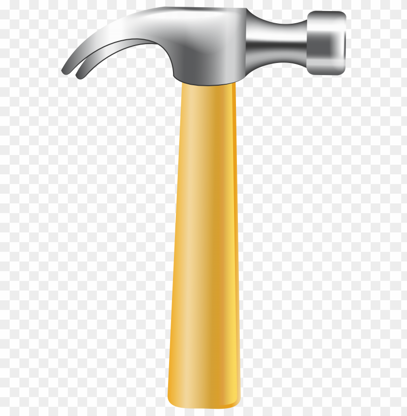 Download hand png photo. Hammer clipart yellow hammer