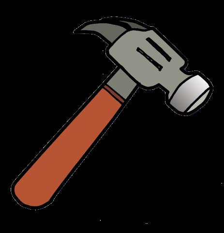 Clipground. Hammer clipart