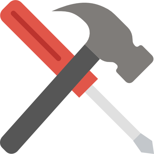 Flat page svg . Hammer icon png