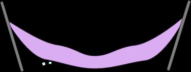 Clip art image. Hammock clipart