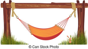 Hammock clipart baby hammock.