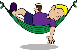 Hammock clipart lie in hammock. Free image best of