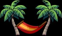 Palm clipart hammock. Tree clip art cliparts