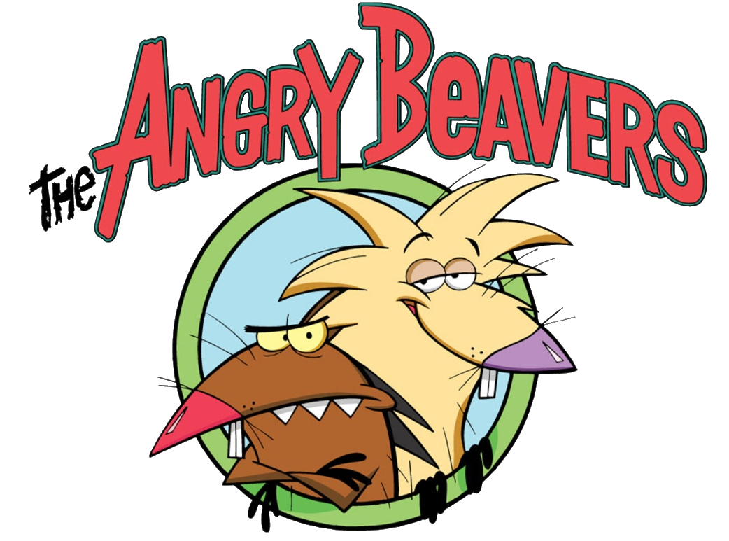 The beavers cartoon crossover. Hamster clipart angry