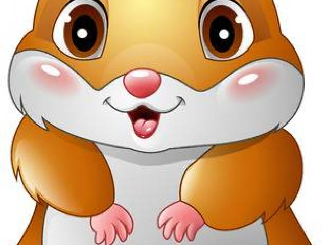 X free clip art. Hamster clipart animated