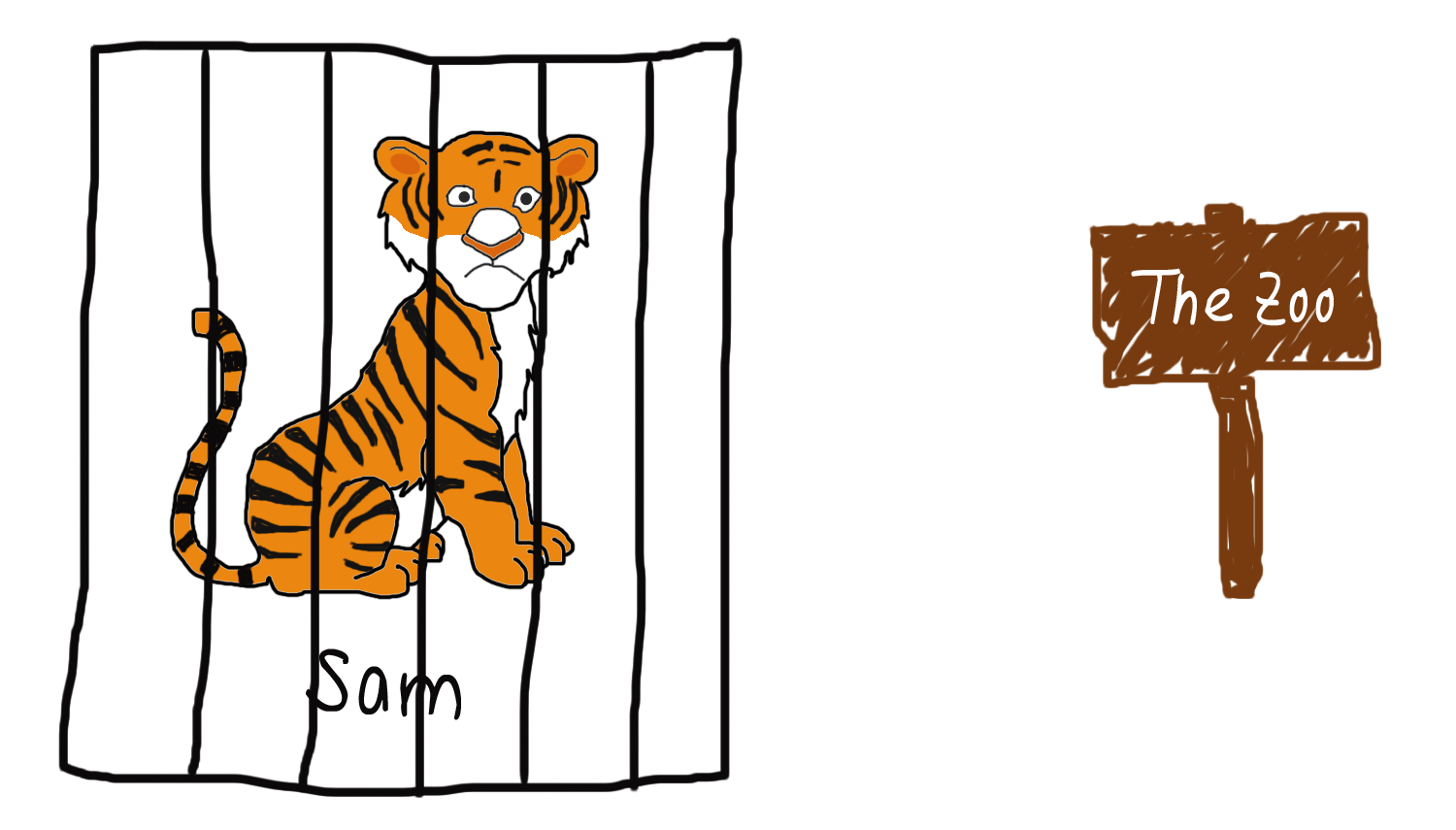 collection of tiger. Hamster clipart animated
