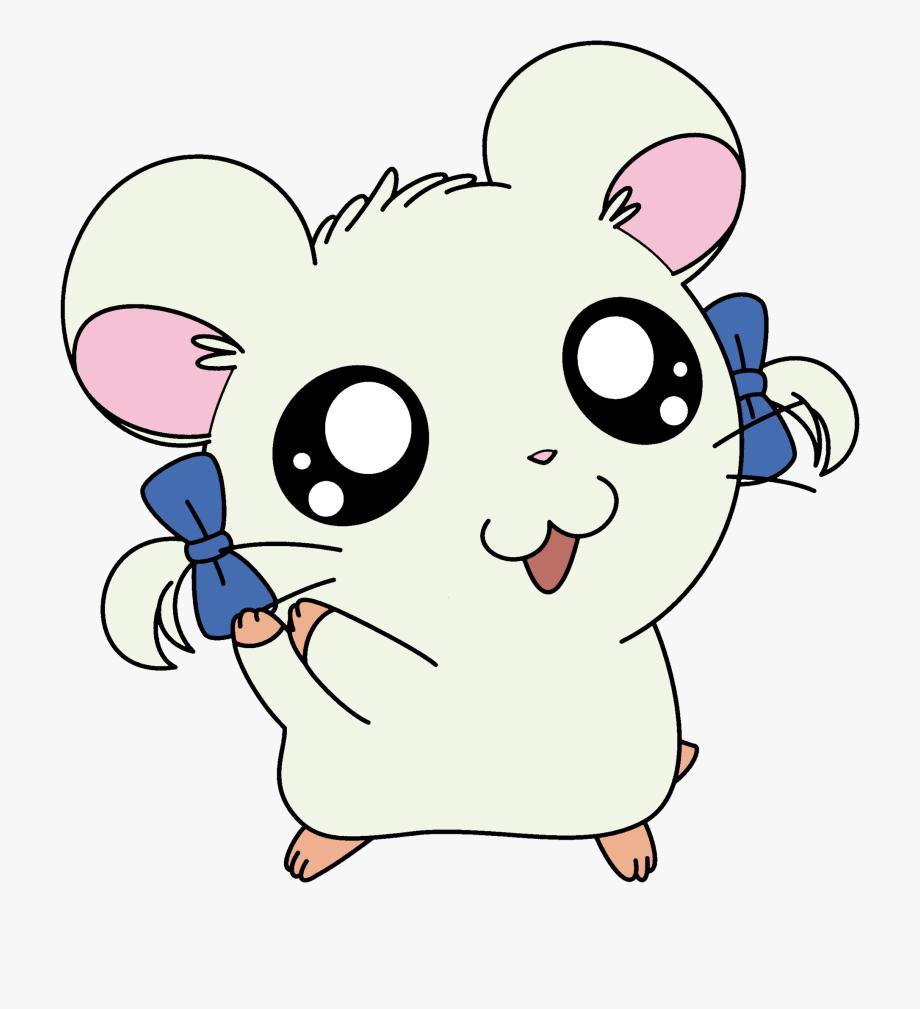 Sick bijou from hamtaro. Hamster clipart baby hamster