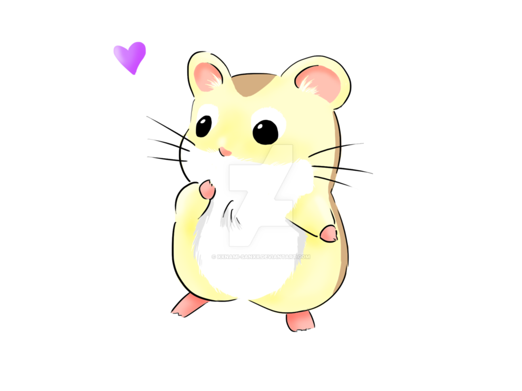 Hamster clipart brown. Little by namiiru on