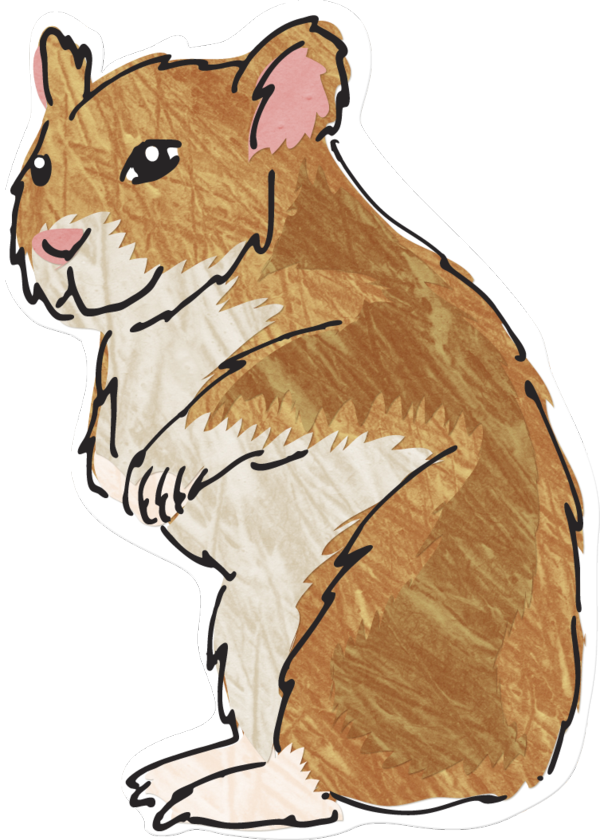 Hamster clipart brown. New living world green