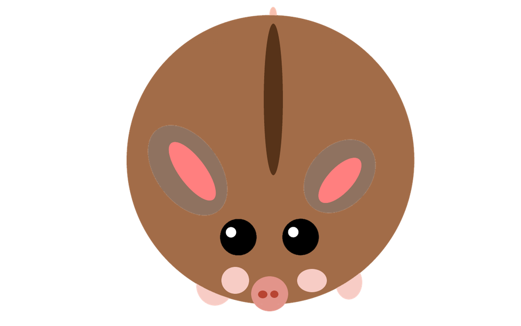 Hamster clipart brown. The tier at domestic
