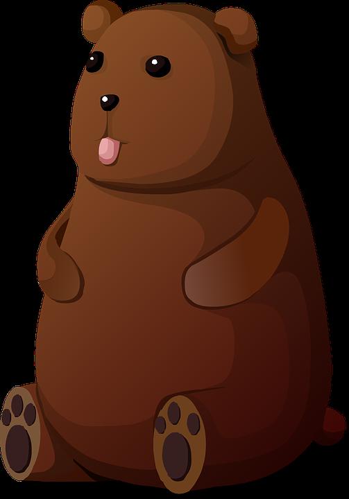 Hamster clipart brown teddy bear. Frames illustrations hd
