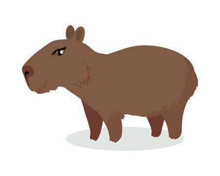 Free download clip art. Hamster clipart capybara
