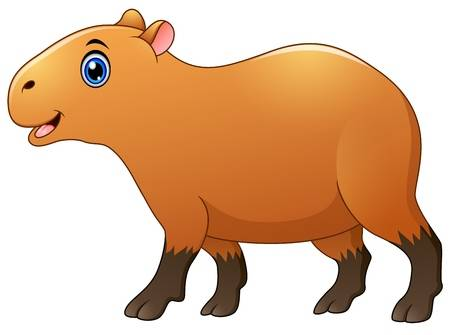 Hamster clipart capybara. Free download clip art