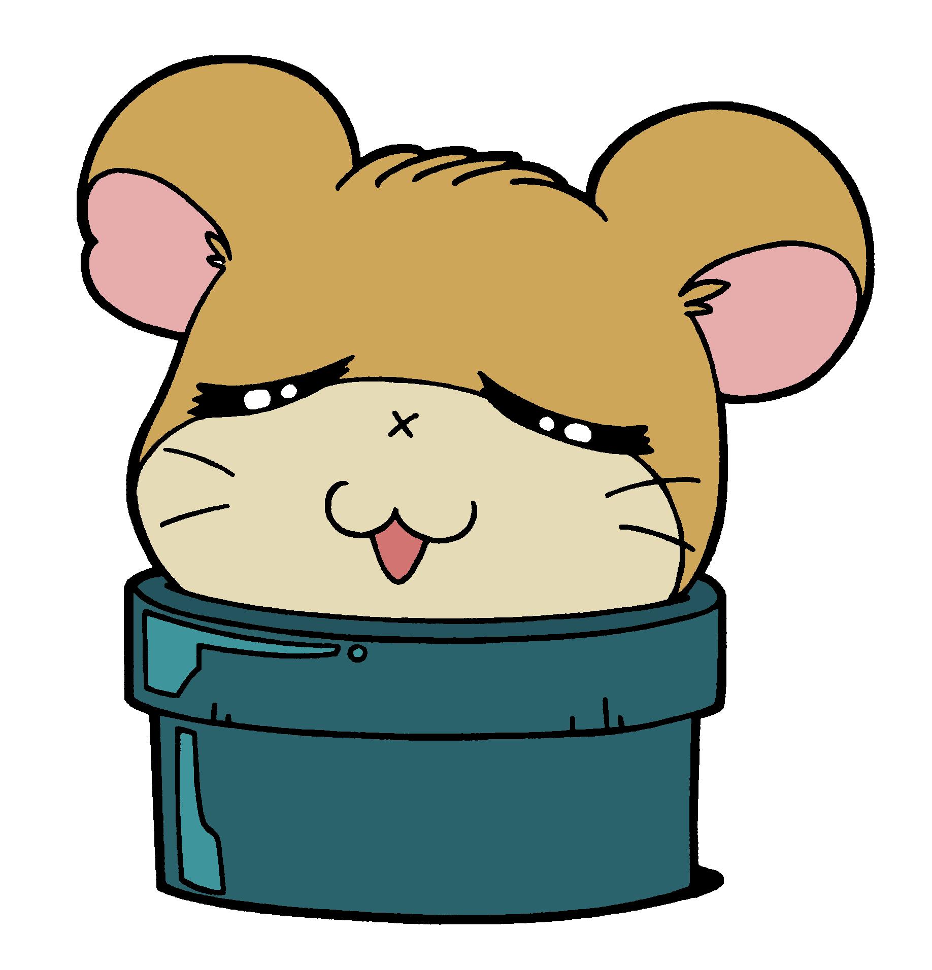 Hamster clipart colour. Stucky the hamtaro wiki