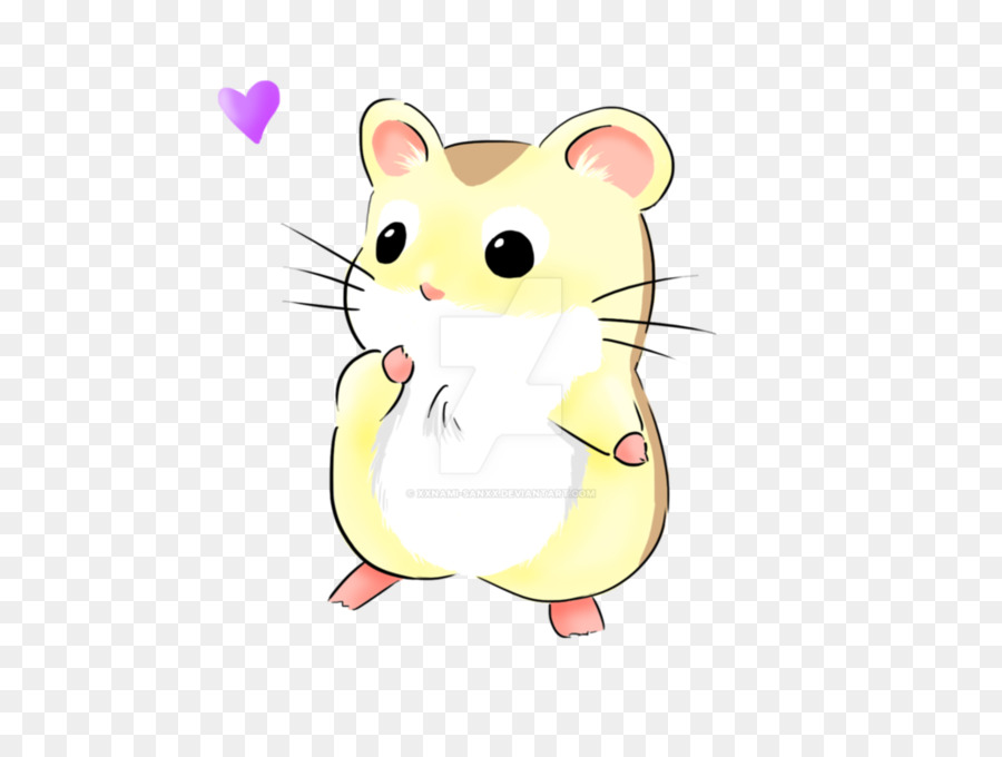 Hamster clipart cute hamster. Mouse cartoon puppy drawing