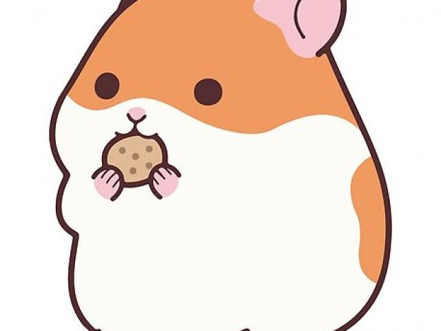 Hamster clipart cute hamster. Free download clip art