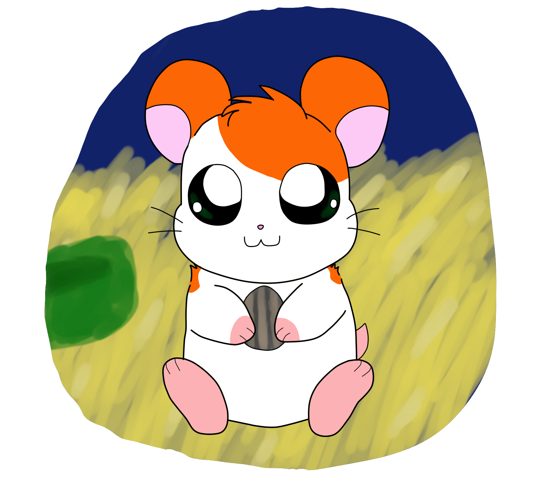 Hamsters drawings on paigeeworld. Hamster clipart dead