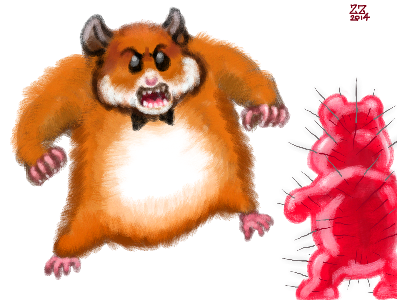 Forum draw a with. Hamster clipart drawn