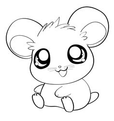 best draw hamsters. Hamster clipart drawn