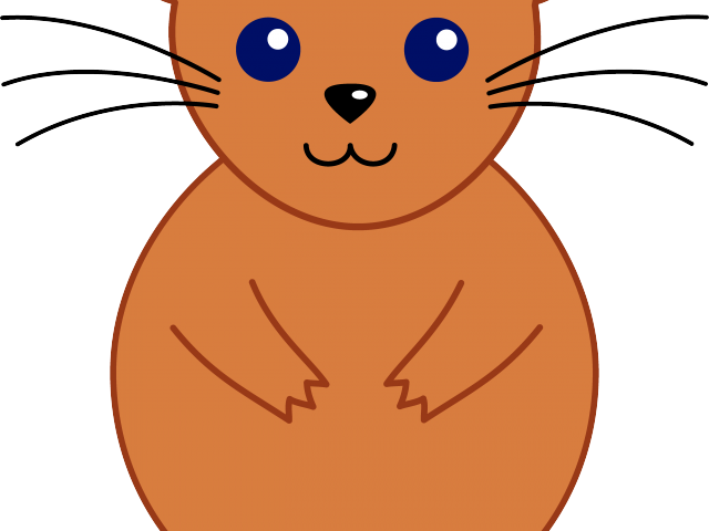 Simple free on dumielauxepices. Hamster clipart easy