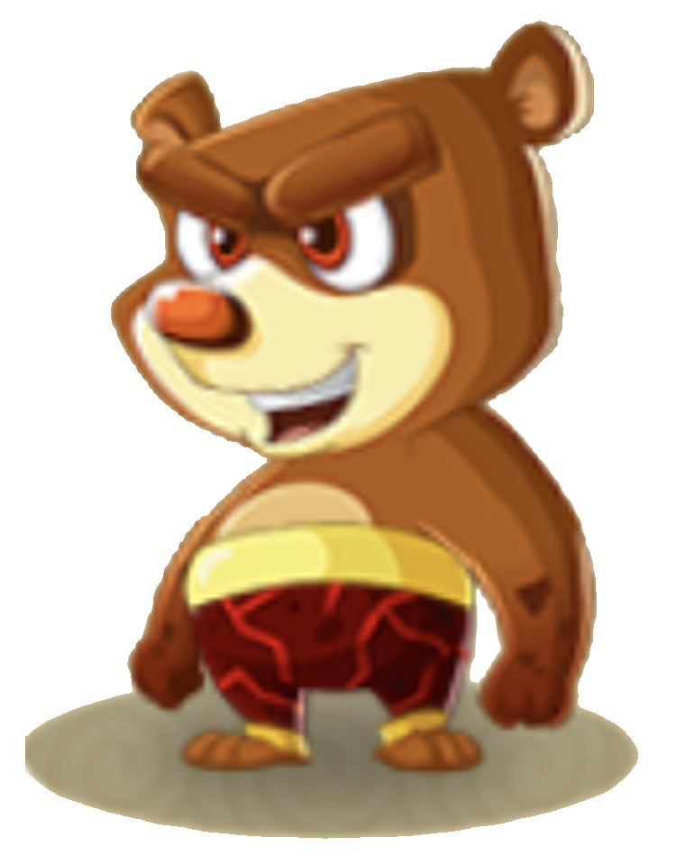 Category major element earth. Hamster clipart grizzly bear