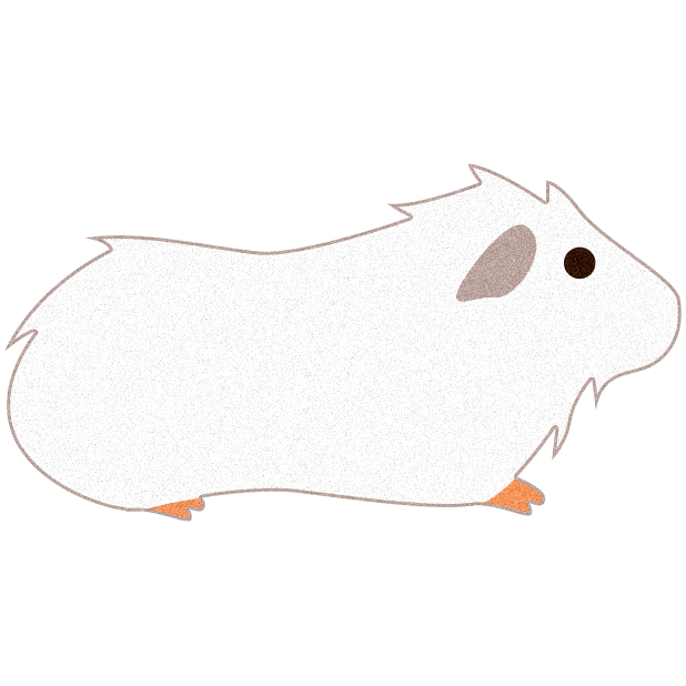 Stickers by pulp free. Hamster clipart guinea pig