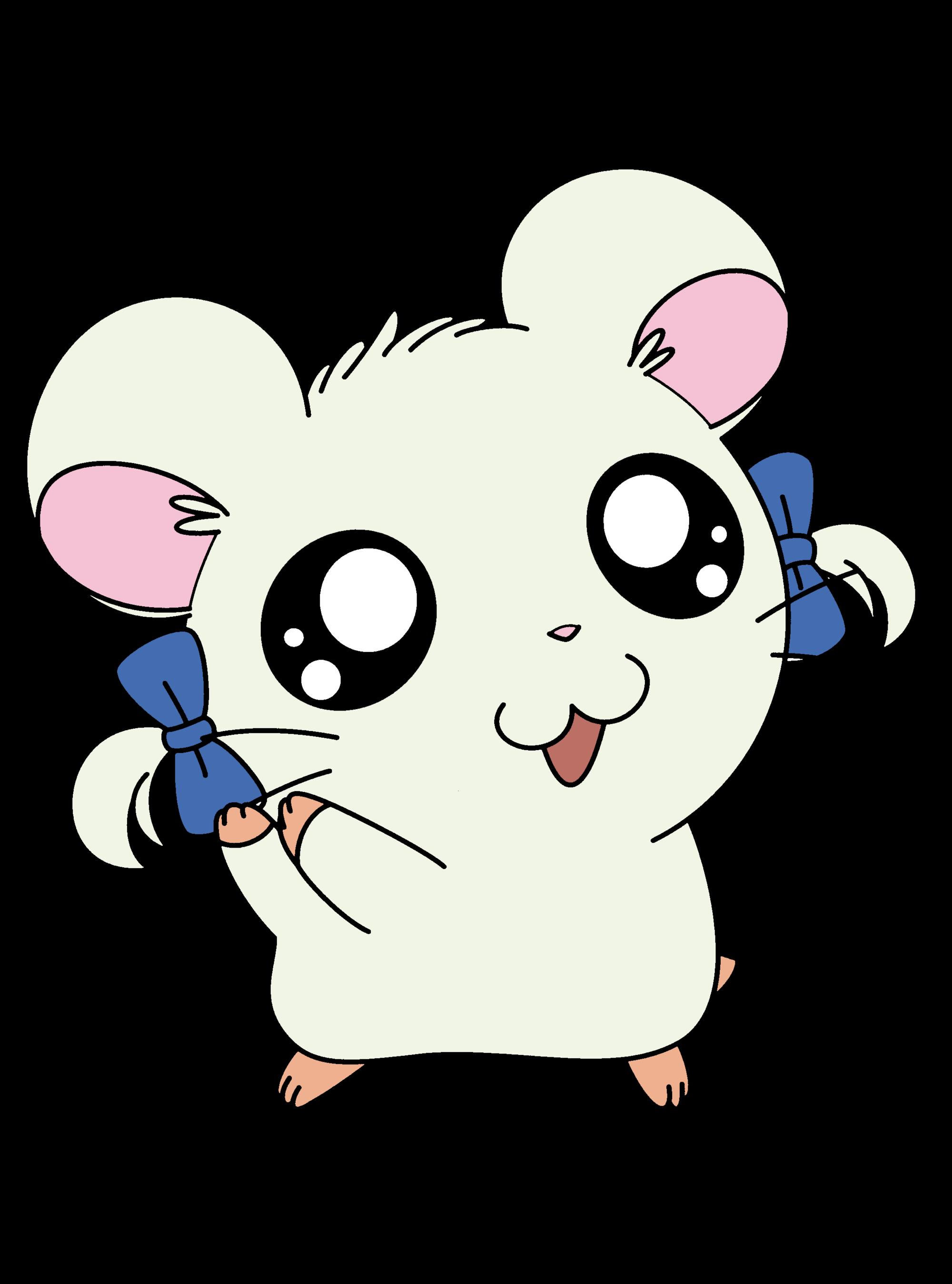 Hamster clipart hampster. Bijou the hamtaro wiki