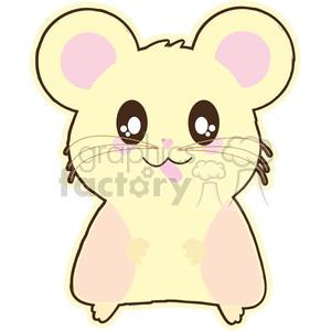 Hamster clipart hampster. Cartoon illustration clip art