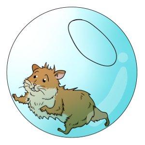 Hamster clipart hamster ball. Balls choosing a exercise