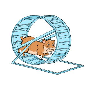Wheels why your needs. Hamster clipart hamster ball