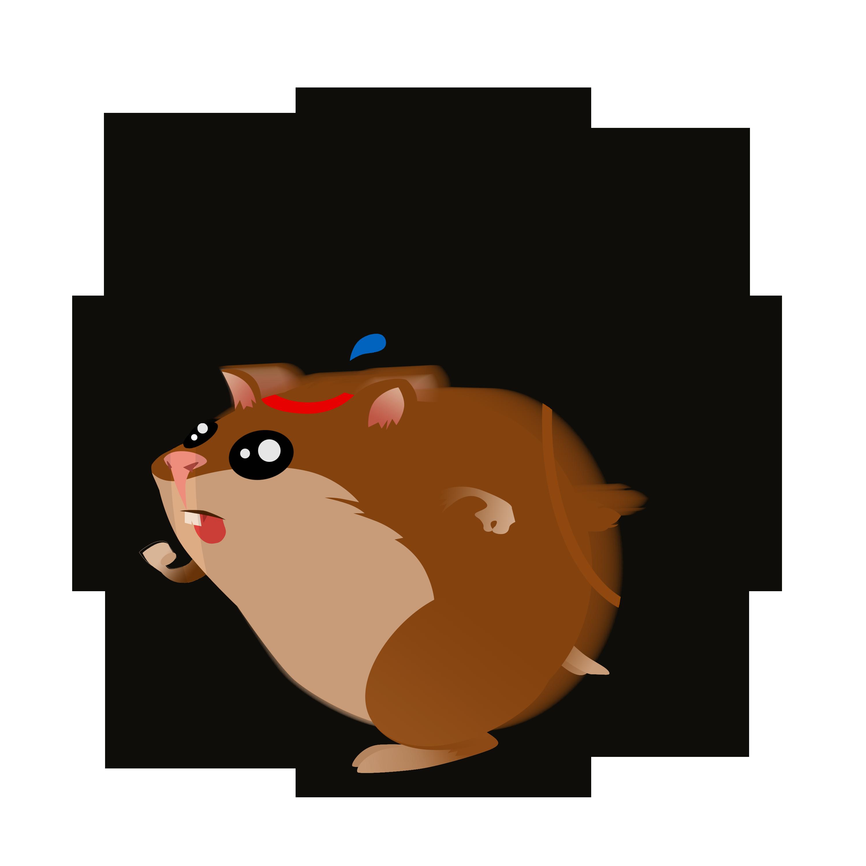 Cartoon Hamster Basketball Stock Vector - Image: 47023204  |Hamster Ball Clipart