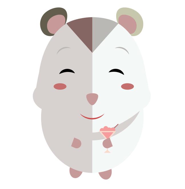 Hamster clipart hamster head. Sarah jayne design npower