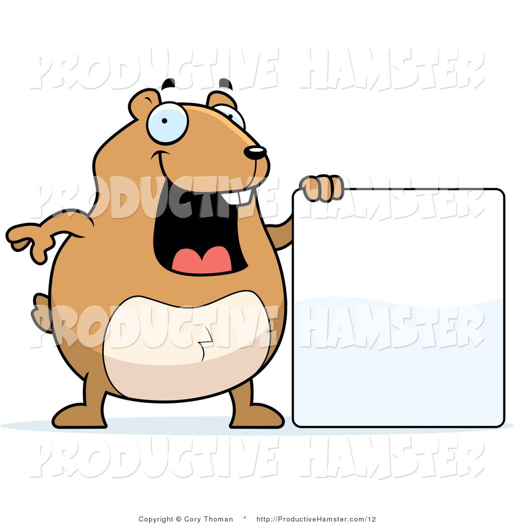 Clip art of a. Hamster clipart happy