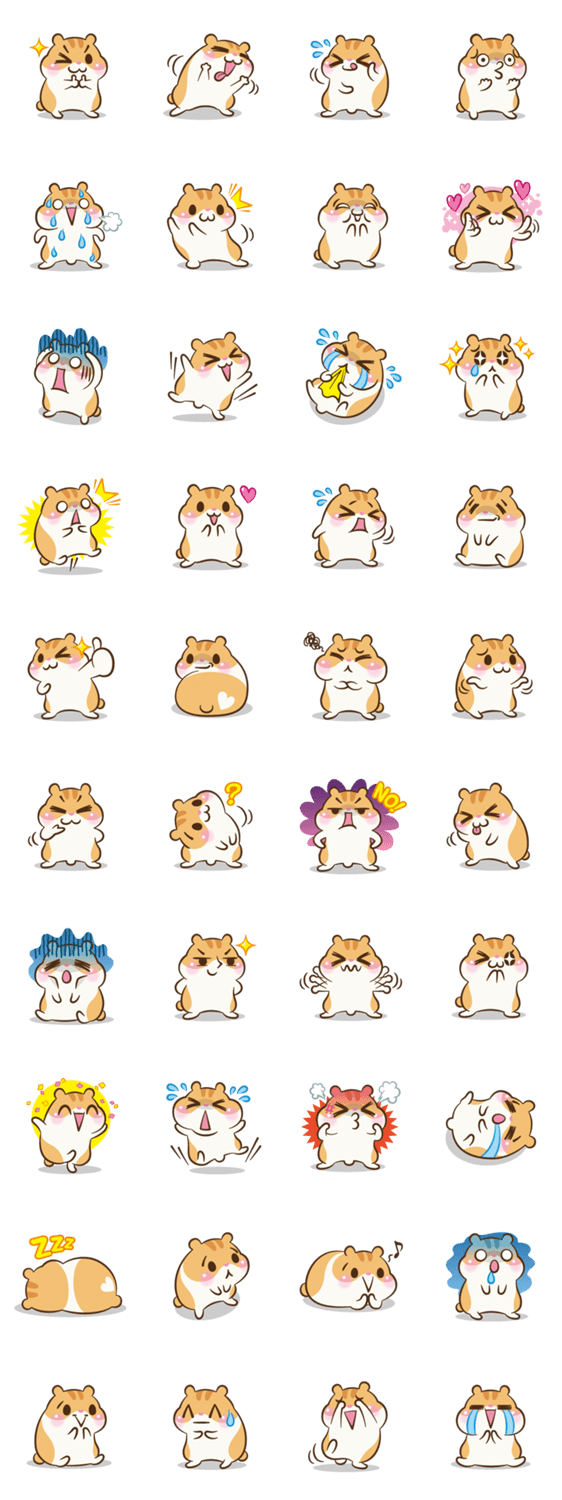 Hamster clipart kawaii. The life de un