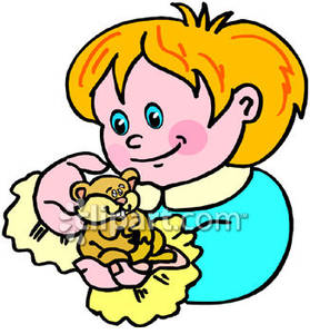 Hamster clipart kid. Child holding a royalty