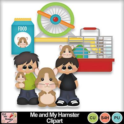 Digital scrapbooking kits me. Hamster clipart kid