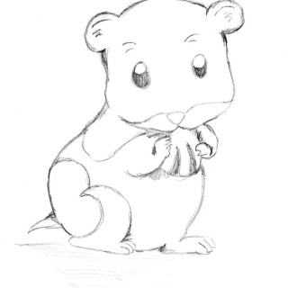 Hamster clipart line. Free cute hamsters cliparts