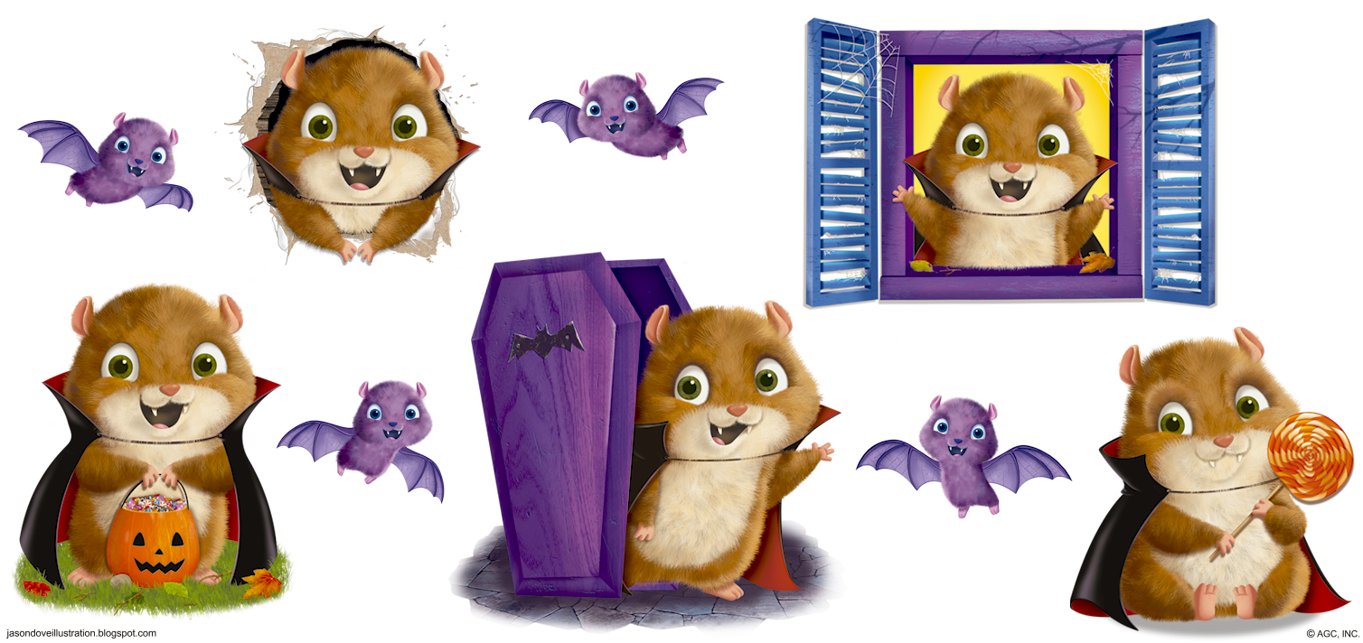 Hamster clipart painting. Jason dove illustration the