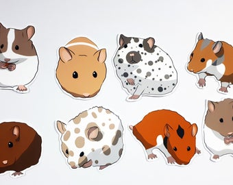 Etsy . Hamster clipart realistic