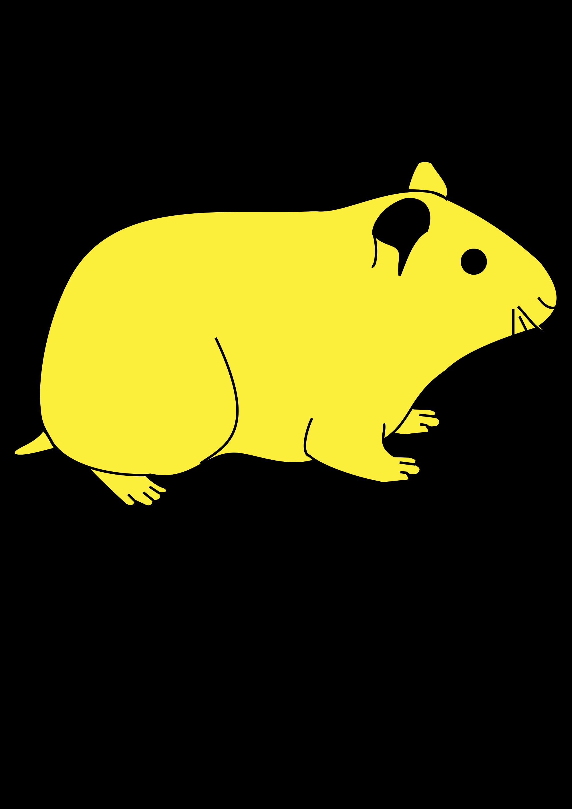 File meuble h raldique. Hamster clipart svg