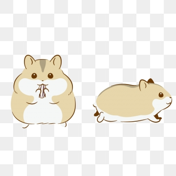 Hamster clipart vector. Png psd and with