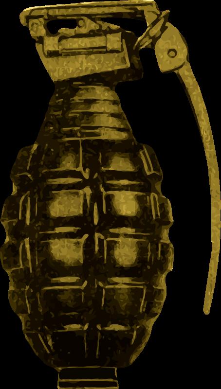 Grenade medium image png. Hand clipart bomb
