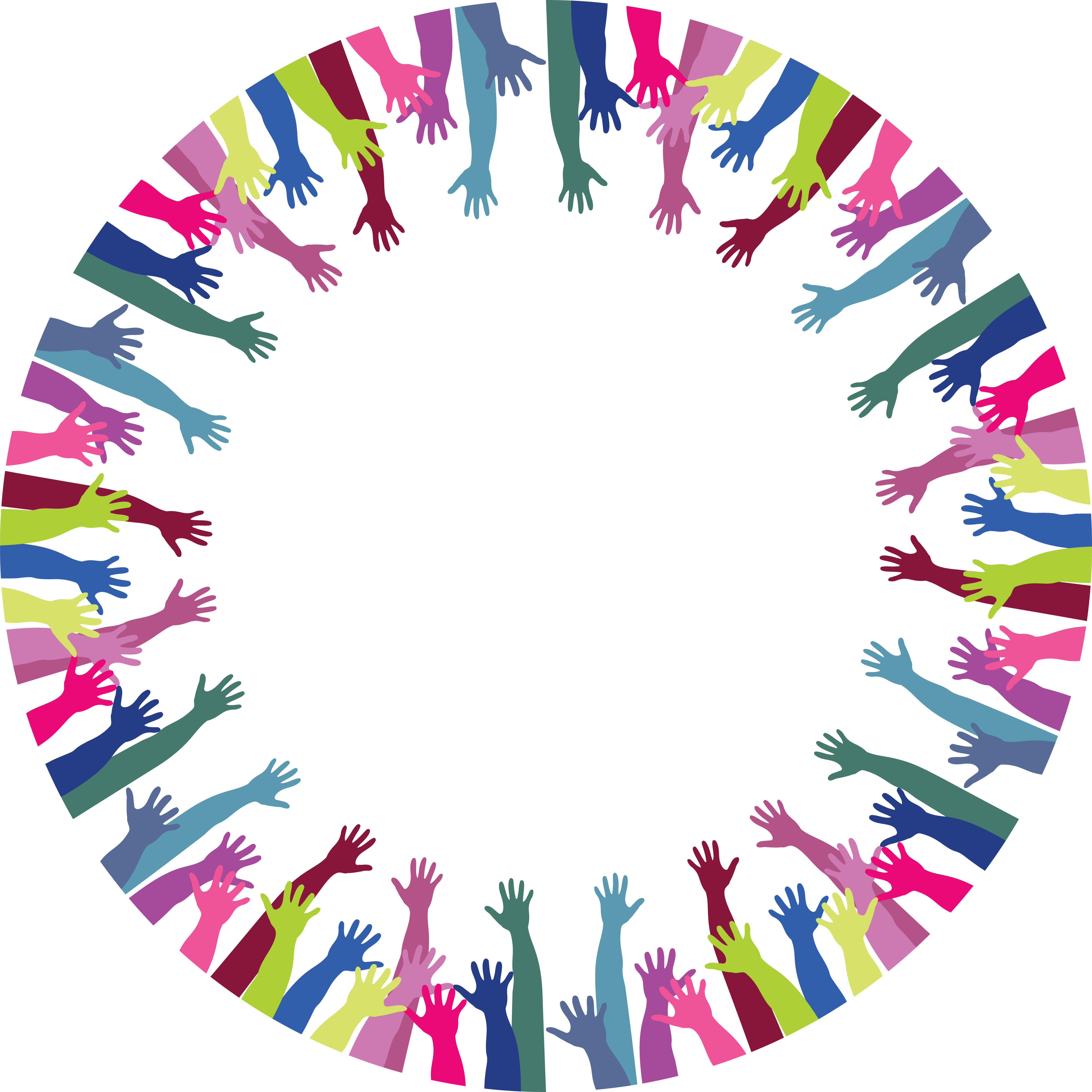 Hands clipart circle. Png of transparent images