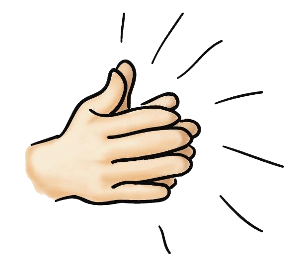 Applause clip art transprent. Hands clipart clapping