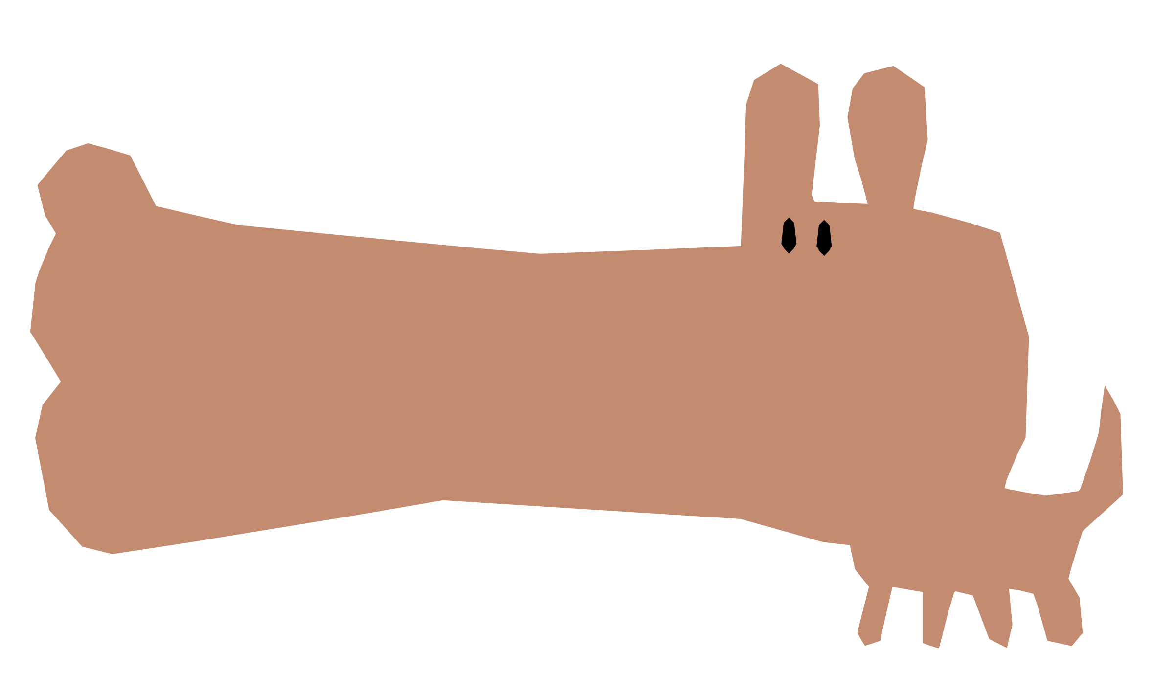 Refixed big image png. Hand clipart dog
