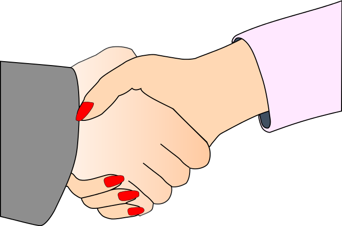 Business hand shaking hands. Handshake clipart brotherhood